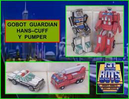 Gobot Rescue Guardians hechos en Cartulina