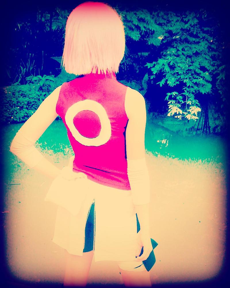 Sakura Haruno Cosplay by KimiChan567