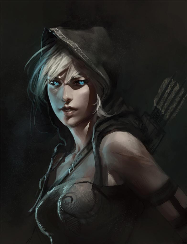 Dark Elf by Butjok