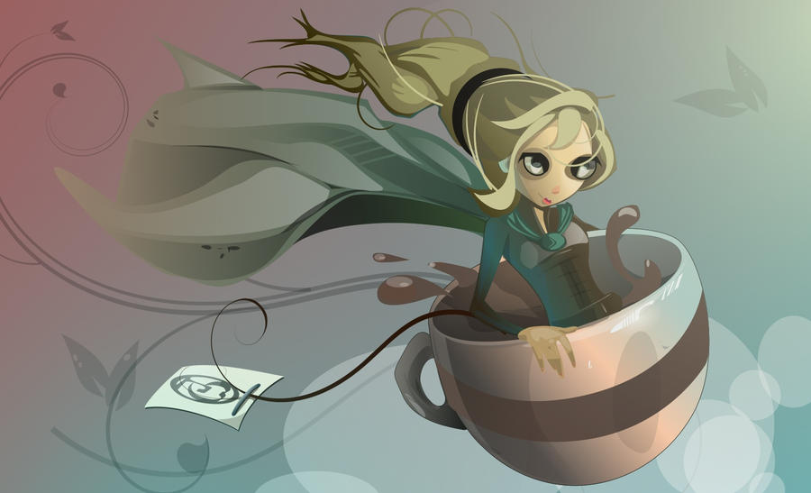 Tea-Witched by Paperbag-Ninja