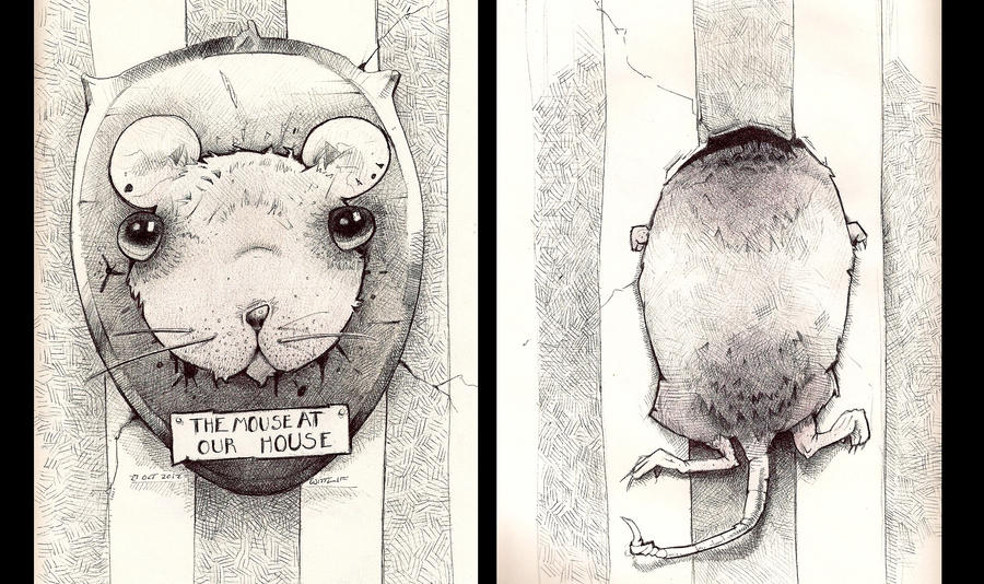 The Mouse At Our House by Paperbag-Ninja