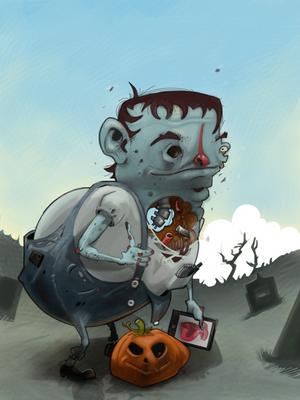 Happy Halloween 2012 by Paperbag-Ninja