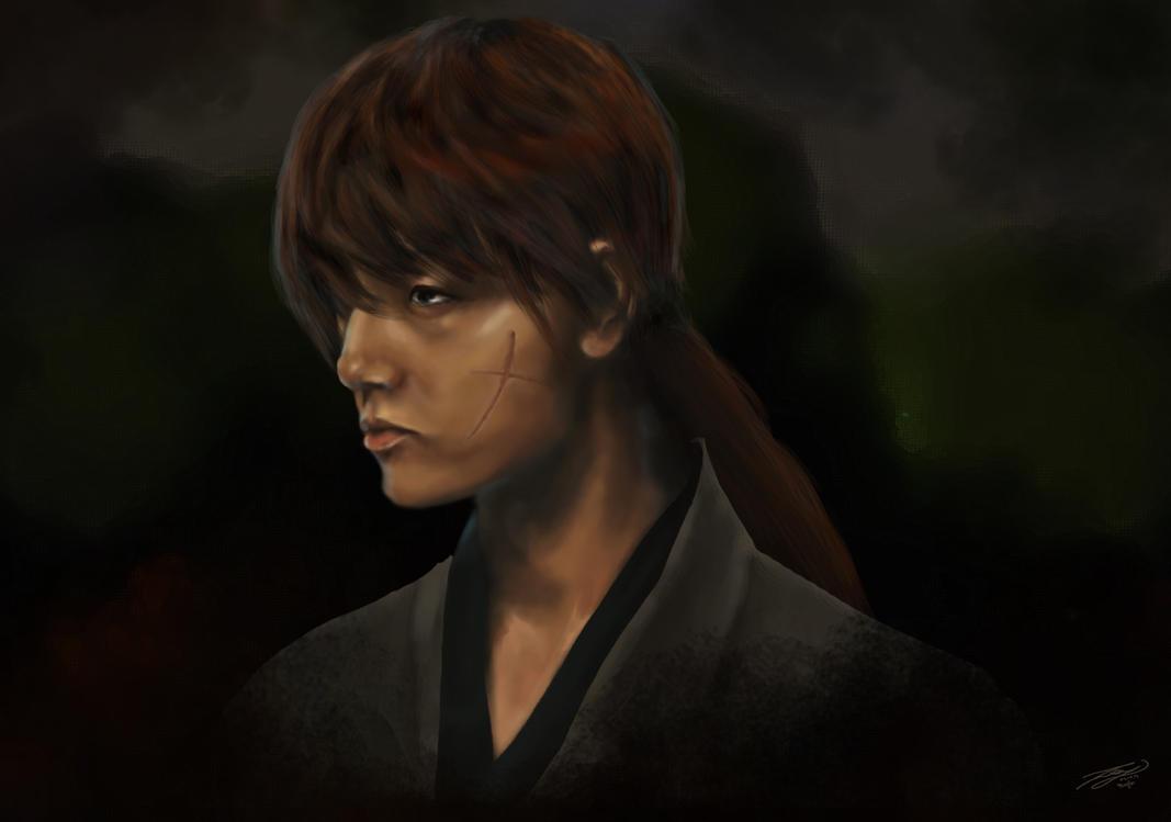Monthly Fanartchallange # 4: Rurouni Kenshin by Sevel