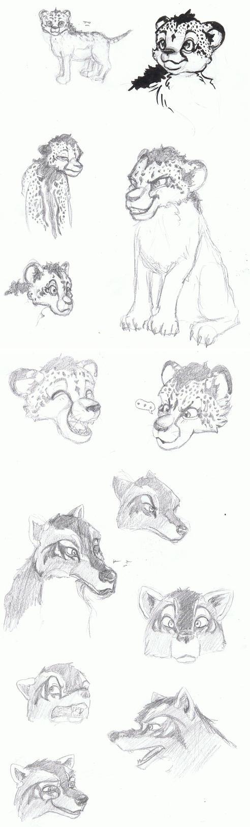 Sketchdump 04.07.2017 by Sevel