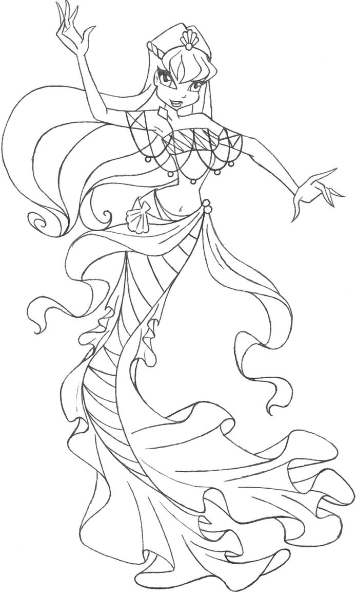 Mermaid Stella by an81angel on DeviantArt