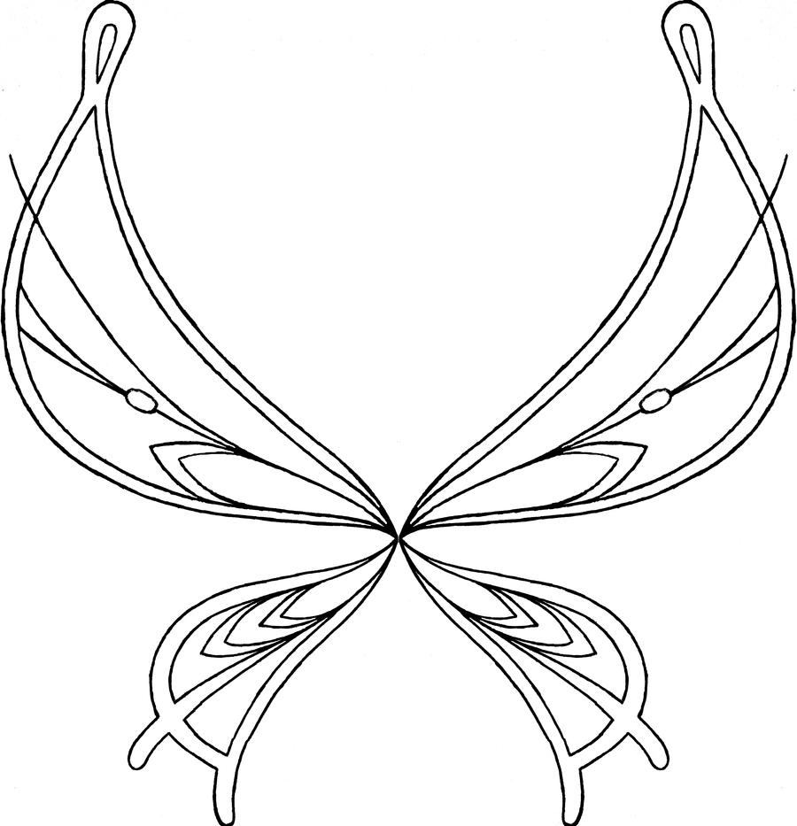 Female angel wings coloring coloring pages for Coloring pages wings