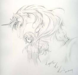 Last Unicorn by KrimsonTiger