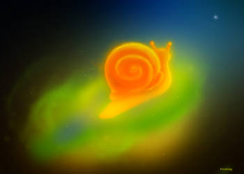 Cosmic Snail by Ferelwing