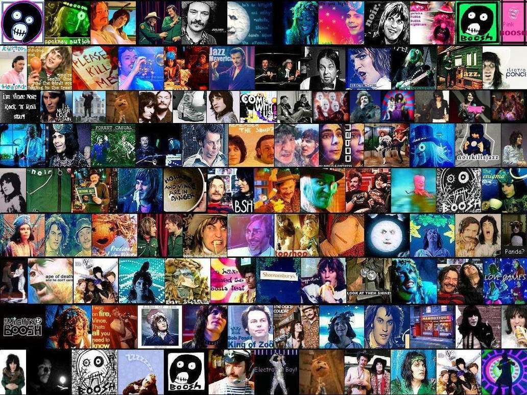 The Mighty Boosh Avatar Wall By Suspicious Chicken On