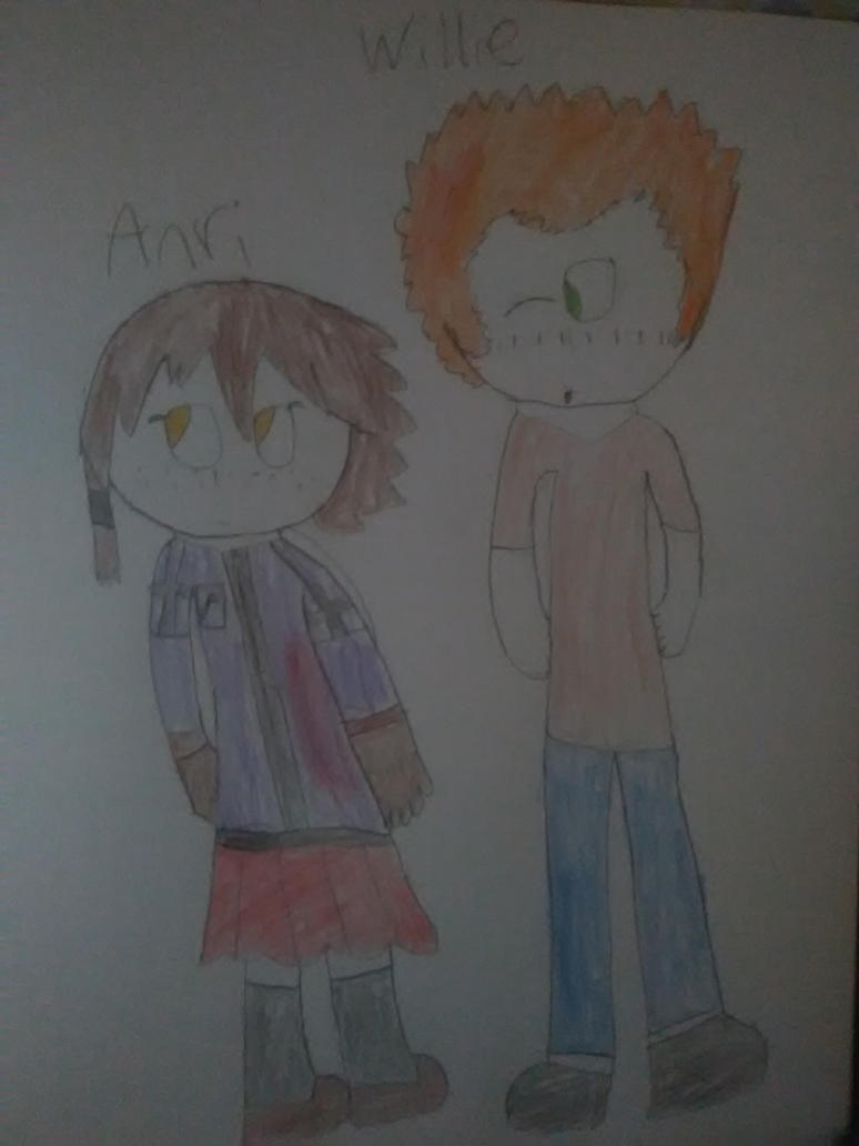 Anri and Willie by Batencio4882