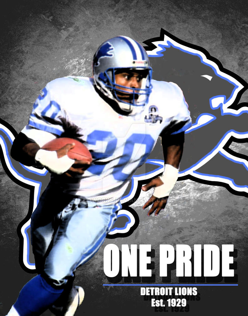 Barry Sanders Wallpaper By Loworks