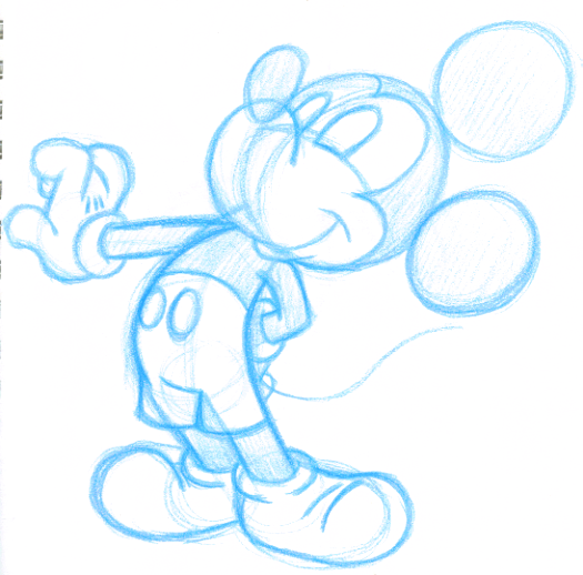 Rough Mickey by superdog527