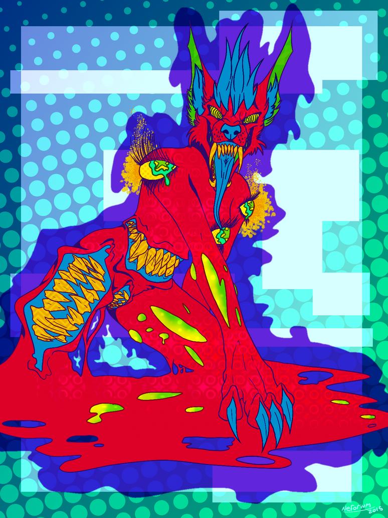 Mouth Made of Metal, Metal, Metal by Neforium