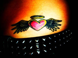 Angel Heart Tattoo by CerebralFeast