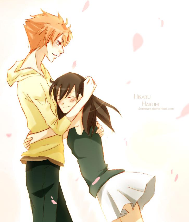 + Hikaru and Haruhi + by 4Dreams