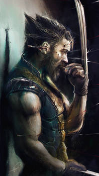 Tom Hardy as the Wolverine