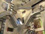 MC Escher Relativity Stairs