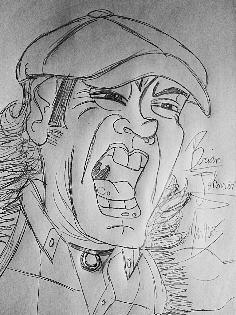 Brian Johnson AC DC by biel12