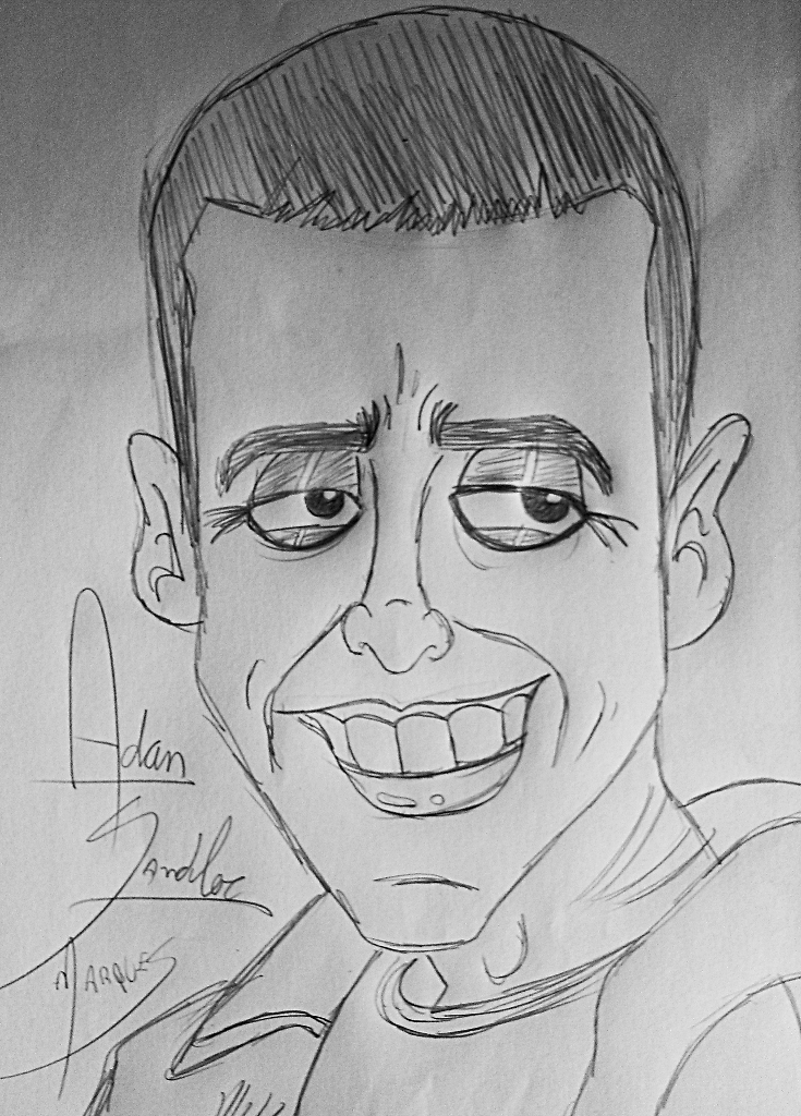 Adam Sandler by biel12