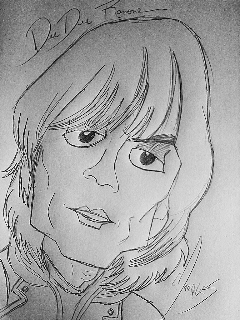 Dee Dee Ramone by biel12