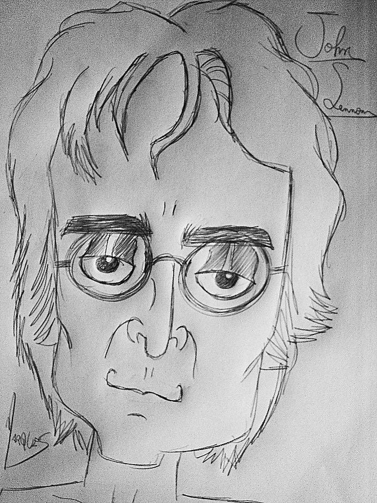 John Lennon by biel12