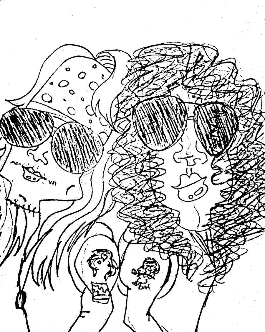 Axl and Slash by biel12