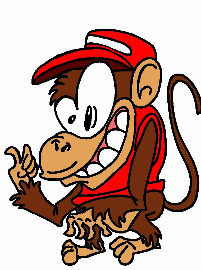 Diddy Kong by biel12