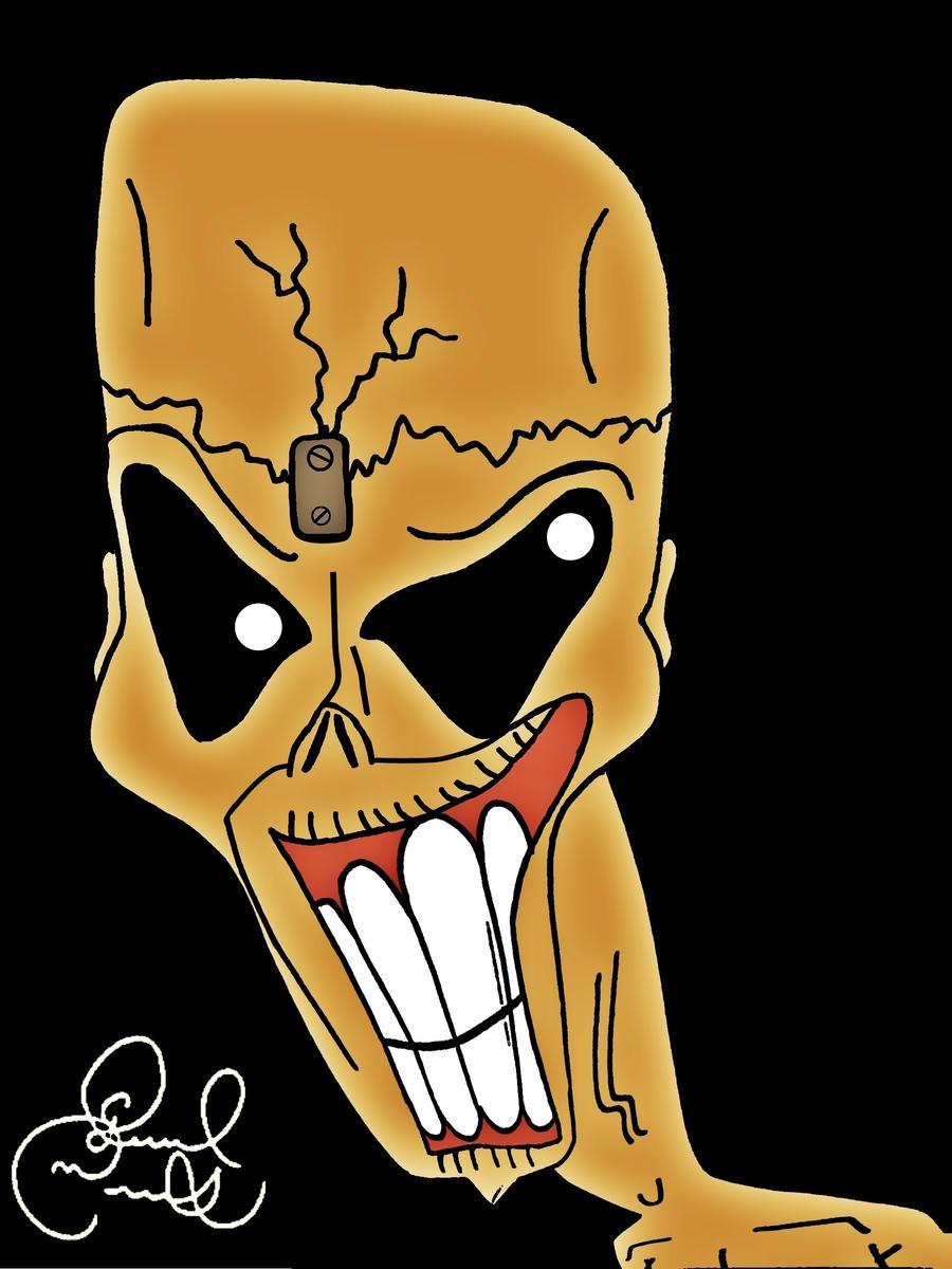 Eddie the Head by biel12