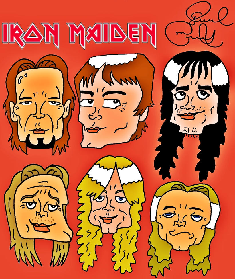 Iron Maiden by biel12