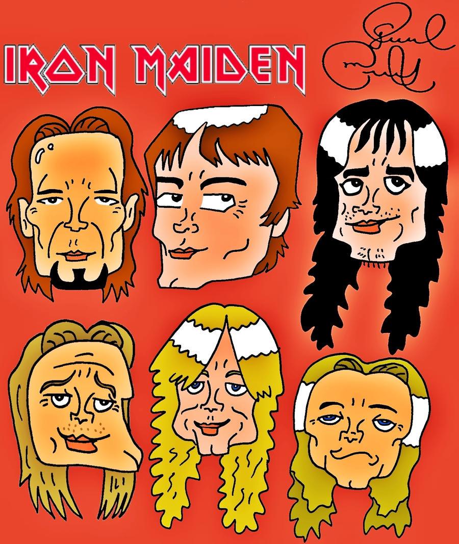 Iron Maiden by biel12
