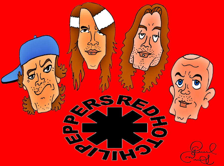 Red Hot Chili Peppers by biel12
