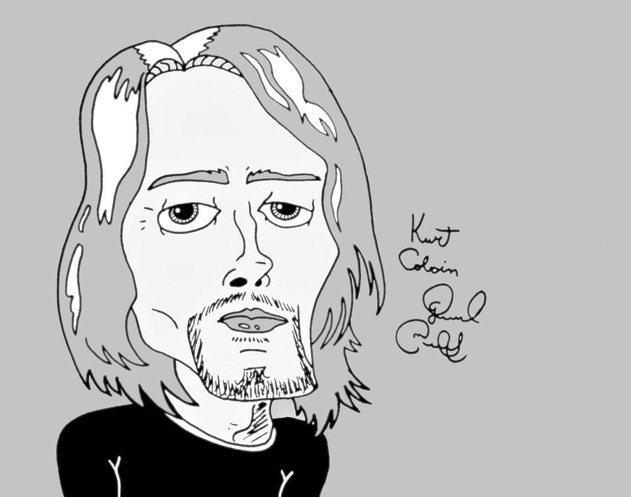 Kurt Cobain by biel12