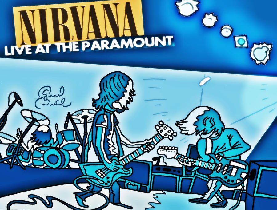 Nirvana Live at the Paramount by biel12