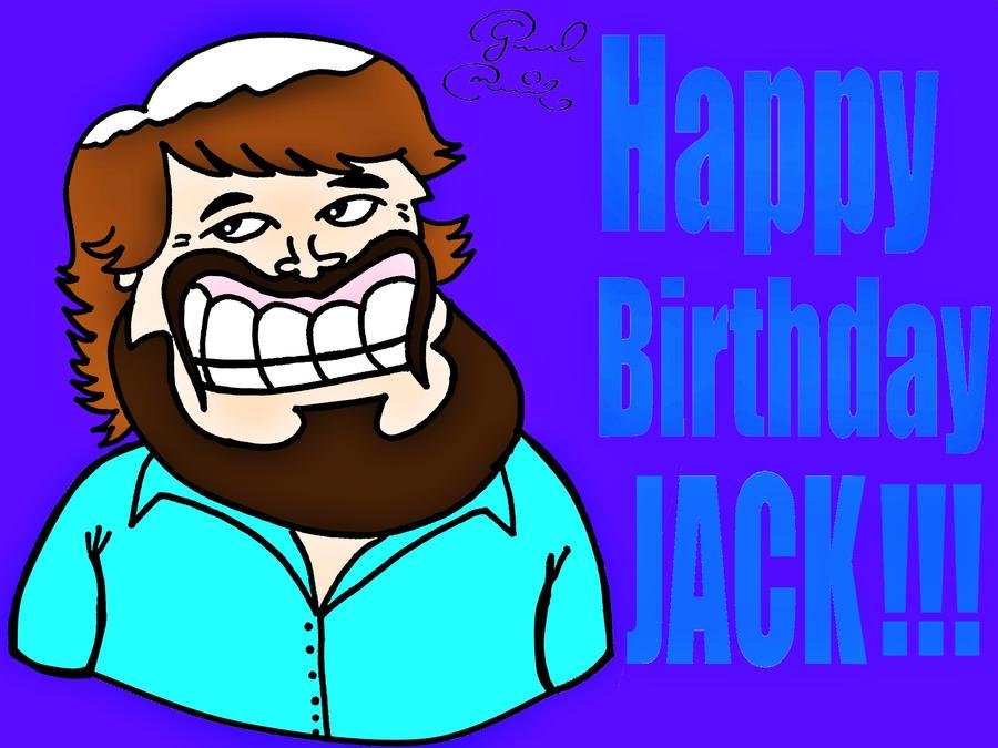 Happy Birthday Jack Black! by biel12