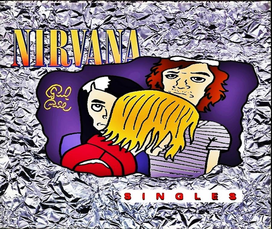 Nirvana Singles by biel12