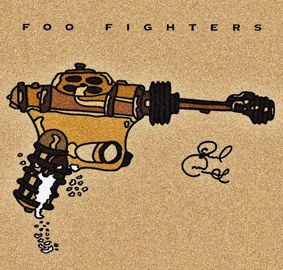 Foo Fighters (album) by biel12
