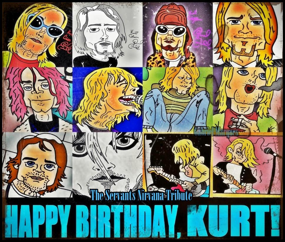 Happy Birthday,Cobain!!!!!!! by biel12