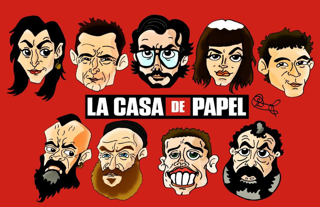 La Casa de Papel by biel12