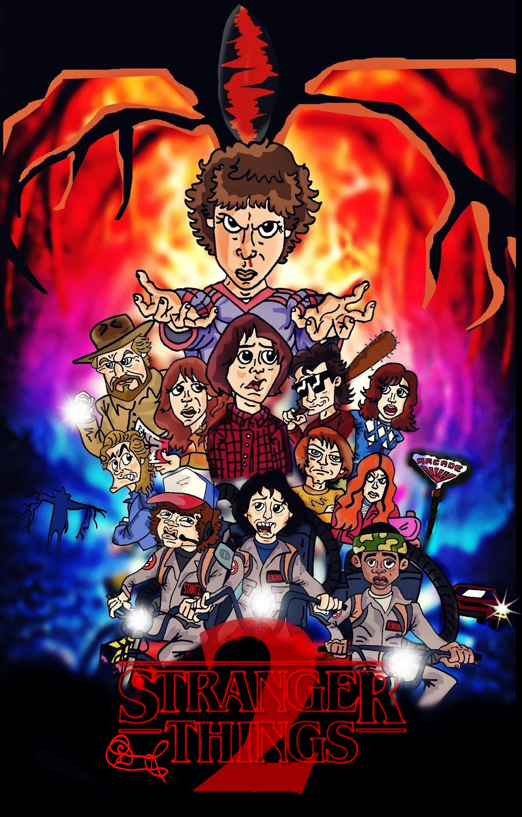 Stranger Things by biel12