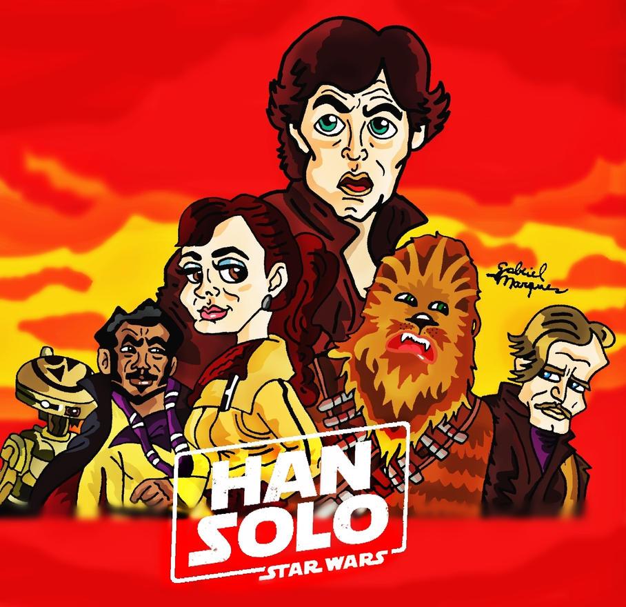 SOLO A STAR WARS STORY by biel12