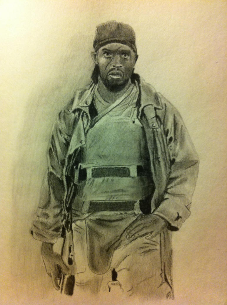 Omar Little The Wire By Fusterclucks