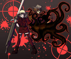 The Hellsing Duo by Angie-Mations