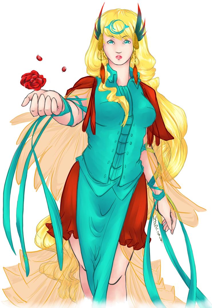 Req #2 :: moonlite dreamer by lost-melfanian