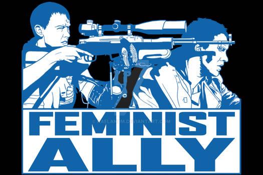 Mad Max Feminist Ally Tshirt