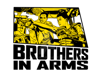 Mad Max Brothers In Arms Shirt Design