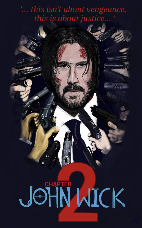 John Wick Chapter 2 Poster By Japanjabara On Deviantart
