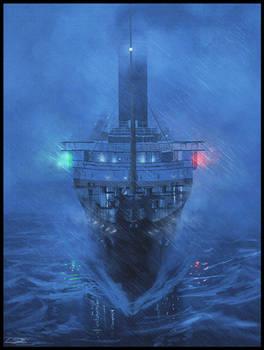 Storm on the Lusitania