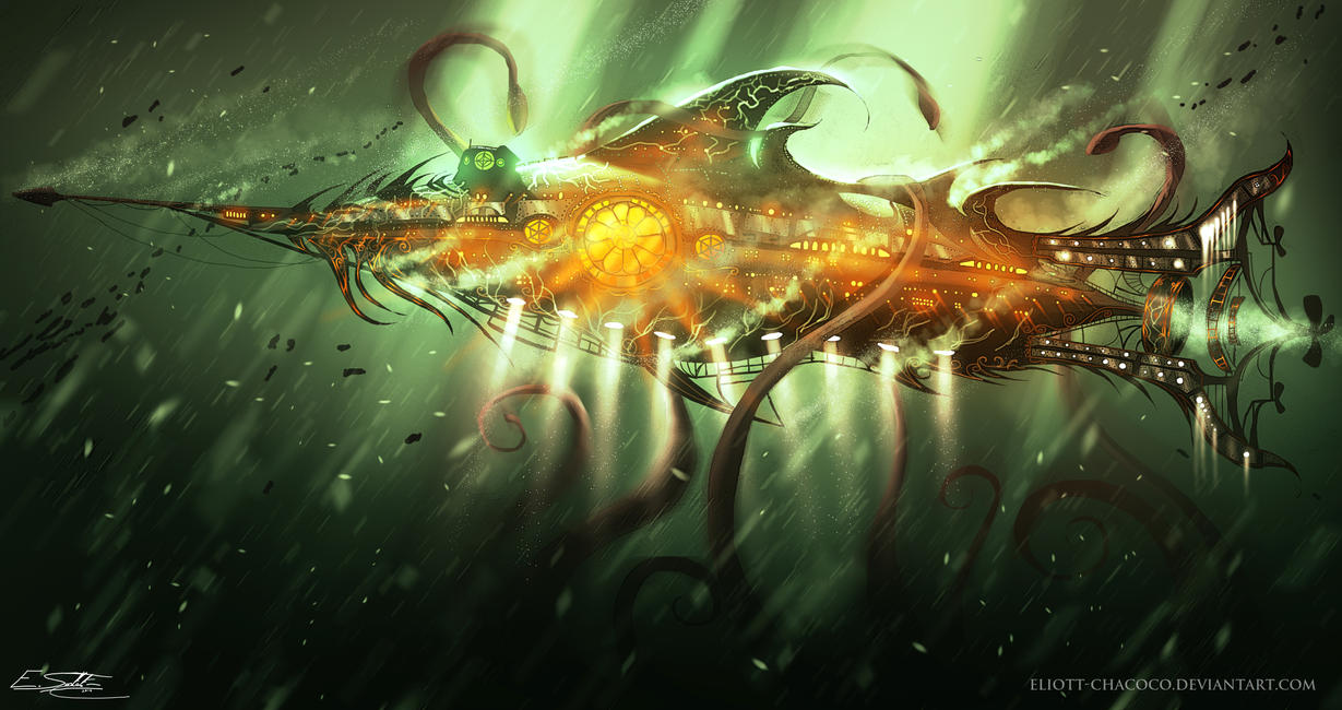 Nautilus by Eliott-Chacoco