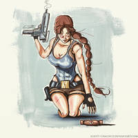 Lara and the Medipack by Eliott-Chacoco