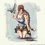 Lara and the Medipack